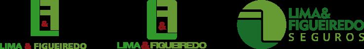 Evolução da logomarca Lima & Figueiredo Seguros